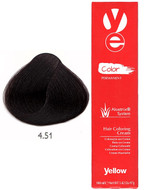 Alfaparf Yellow Hair Color Mahogany Ash Brown