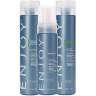Enjoy Volumizing Shampoo, Conditioner And Stimulator Set