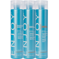 Enjoy Hydrating Shampoo, Conditioner, and Leave-In Conditioner Trio
