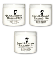 Gentlemen Republic Refined Molding Gel 16oz - 3 Pack