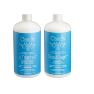Crack Clean and Soaper Shampoo and In Treatment Conditioner Duo 33oz