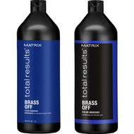 Matrix Total Results Color Obsessed Brass Off Shampoo & Conditioner Duo