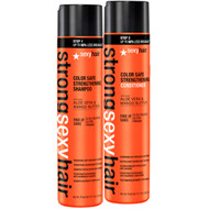 Strong Sexy Hair Color Safe Strengthening Shampoo and Conditioner Duo 10oz