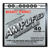 Manic Panic Flash Lightening Bleach Kit 40 Volume Cream Developer