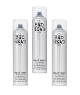 Tigi Bed Head Hard Head Hard Hold Hairspray 10.6oz - 3 Pack