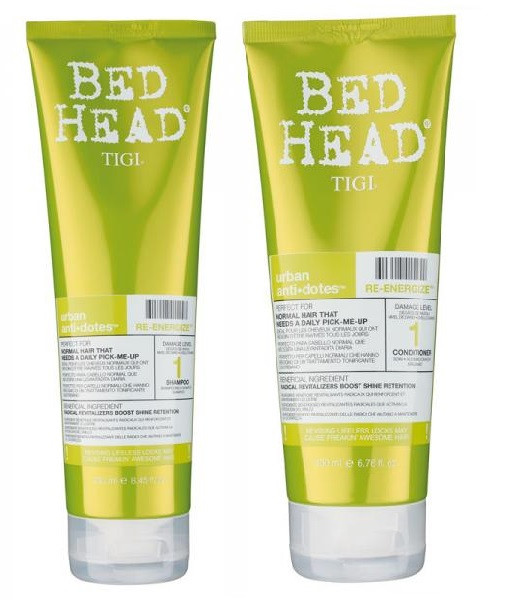 Tigi Bed Head Re-Energize Shampoo And Conditioner Duo 8.45oz/6.76oz