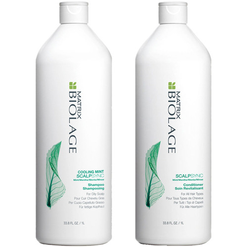 Matrix Biolage ScalpSync Cooling Mint Shampoo and Conditioner Duo