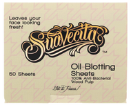 Suavecita Oil-Blotting Sheets Wood Pulp Oil 50 Sheets