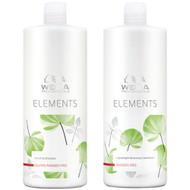 Wella Elements Renewing Shampoo and Lightweight Conditioner