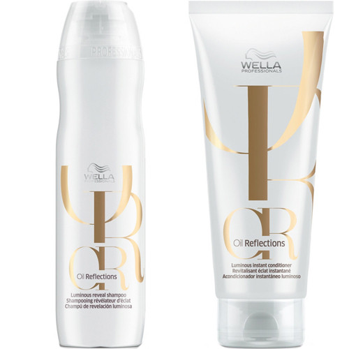 Wella Oil Reflections Luminous Reveal Shampoo and Instant Conditioner Duo