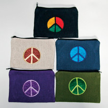 "S6-6  -  Coin Purse  Assorted Colors 6"" X 4"""