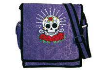 S7-3  -  Skull & Roses Cotton Bag