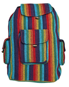 "P9-3  -  Rainbow Back Pack 16"" x 19"""