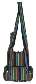 """H9-15  -  Alpaca Hand Bag Assorted Colors 16"""" x 13"""""""