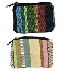 "H9-3  -  Coin Purse Assorted Colors 5"" x 4"""