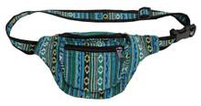 3 zipper festival pouch - adjustable