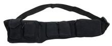 6 pocket Black adjustable pocket belt