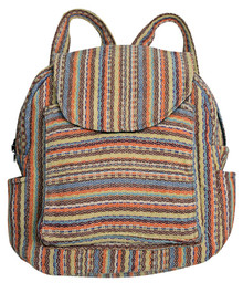 Pueblo material used for back pack - 3 large pockets