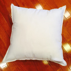 "8"" x 8"" 25/75 Down Feather Pillow Form"