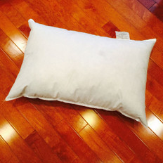 "10"" x 19"" Synthetic Down Pillow Form"