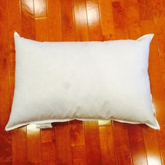 "9"" x 12"" 10/90 Down Feather Pillow Form"