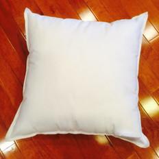 "20"" x 20"" Eco-Friendly Non-Woven Indoor/Outdoor Pillow Form"