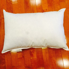 "9"" x 19"" 25/75 Down Feather Pillow Form"
