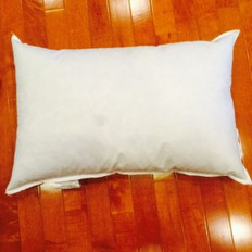 "10"" x 21"" Eco-Friendly Non-Woven Indoor/Outdoor Pillow Form"