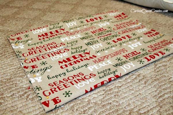 Tea Towel Christmas Pillow Pillowcubes
