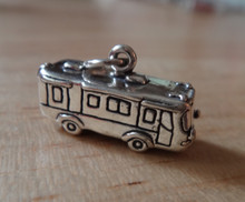 Camping 4g  Travel Motorhome RV Sterling Silver Charm