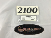 2100 PARKER HULL DESIGNATION DECAL