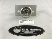 2.5 INCH FLUSH SKI TOW & BACKING PLATE - 66448-1