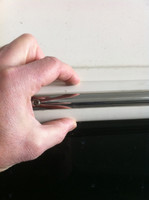 22' CREAM RIGID PVC RUBRAIL