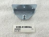 90 DEG. W/13MM BALL