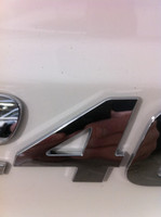 CHAPARRAL LOGO NUMBER 4  CHROME INJECTION MOLDED