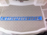 CHAPARRAL LARGE LOGO CHROME INJECTION MOLDED 32 X 2.5 / *** 14-00146