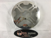 SPEAKER COVER - COAXIAL 304 STAINLESS STEEL - 44.00110