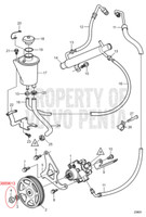 POWER STEERING PULLEY WASHER - 3889615