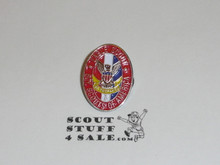 """Eagle Scout Enamel Lapel Pin, 1"""" Tall - GREAT EAGLE SCOUT GIFT"""