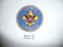 Council Committee Patch (CC4), 1973-?