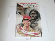 1990 Order of the Arrow Handbook, For 75th Anniversary
