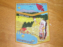 Tahosa O.A. Lodge #383 2009 NOAC 2pc Flap Set