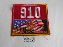 2001 National Jamboree Troop 910 Unit Number, Denver Area Council Troop