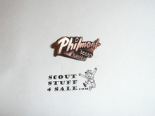 Philmont Scout Ranch, Copper Color Script Pin