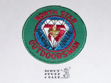 75th BSA Anniversary Patch, North Star Outdoorsman