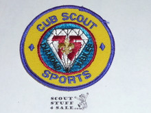 75th BSA Anniversary Patch, Cub Scout Sports