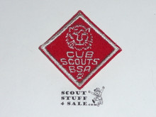 Lion Cub Scout Rank, felt