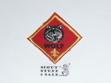 Wolf Cub Scout Rank, twill, 70's