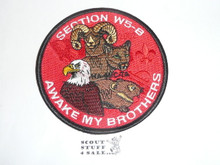 Section / Area W5B Order of the Arrow Conference Patch, 2002