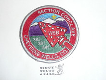 Section / Area W5B Order of the Arrow Conference Patch, 1999